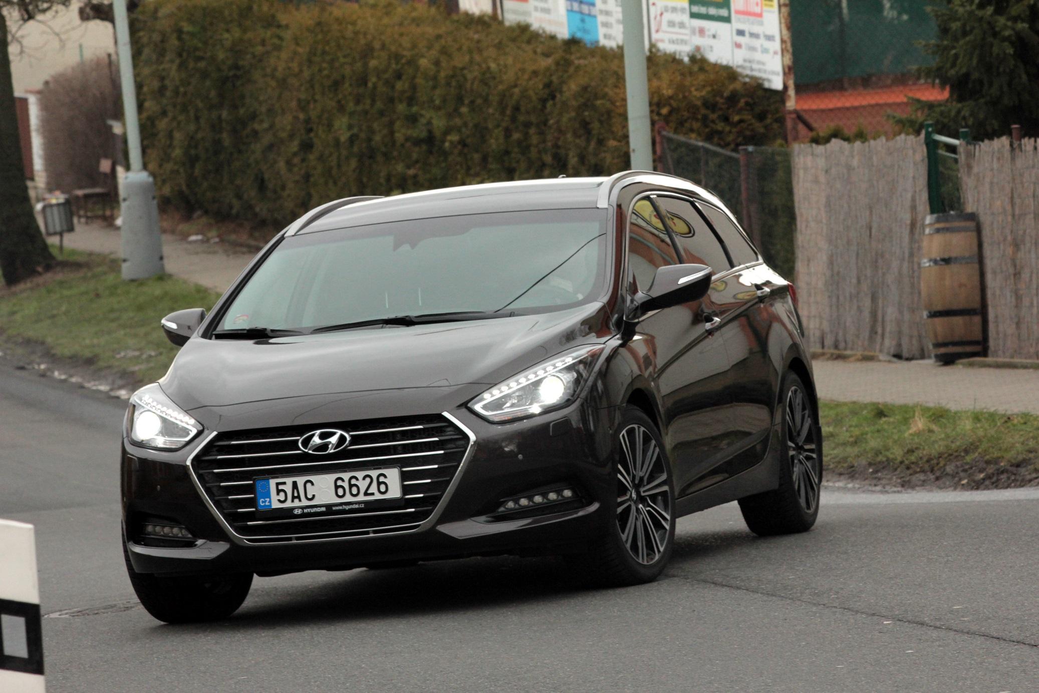Jízda Hyundai i40 Combi