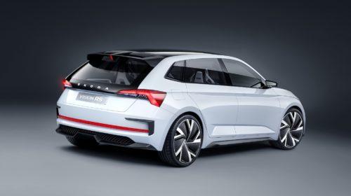 Škoda Vision RS Back