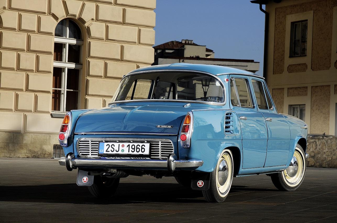 Škoda 1000 MB Back