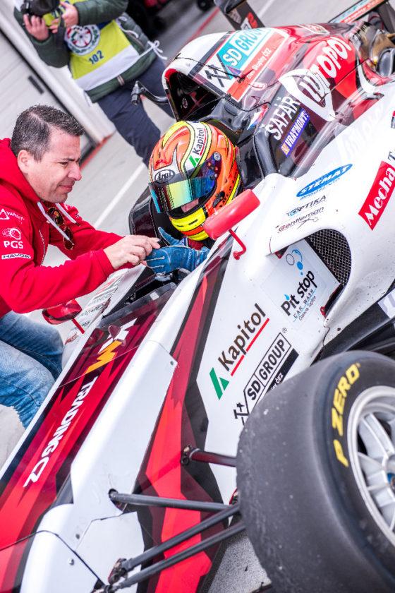 Václav Šafář, Formule 4