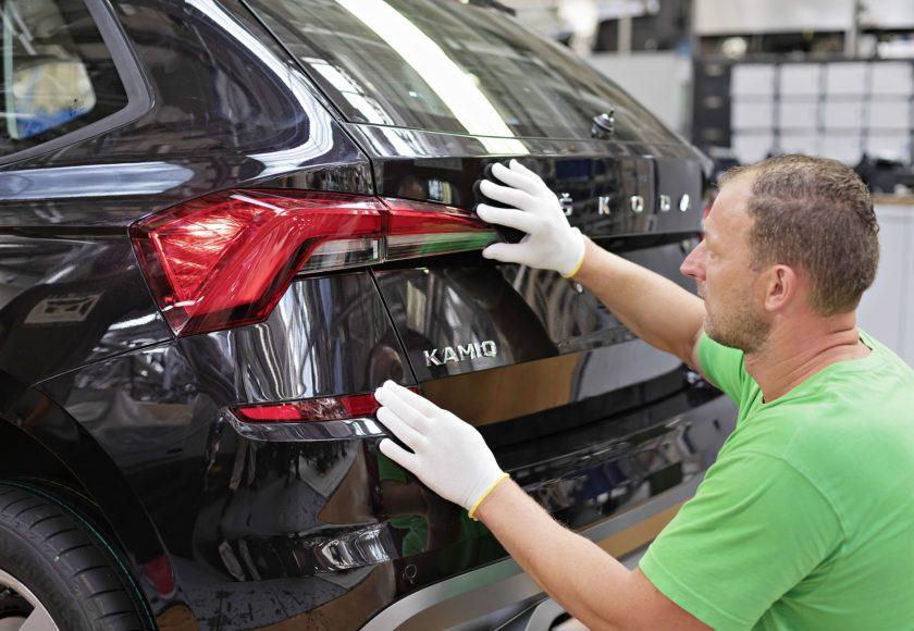 Škoda Kamiq začátek výroby