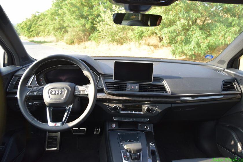 Audi SQ5 Interiér