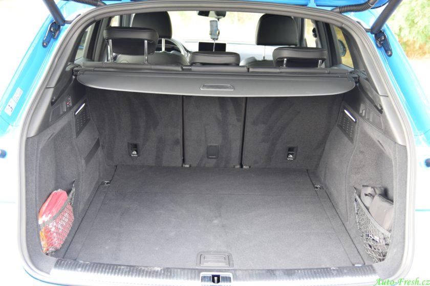 Audi SQ5 Zavazadlový prostor
