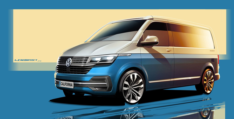 Volkswagen California 6.1 Front