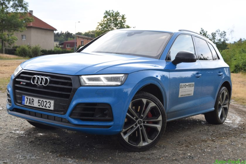 Audi SQ5 test terén 2