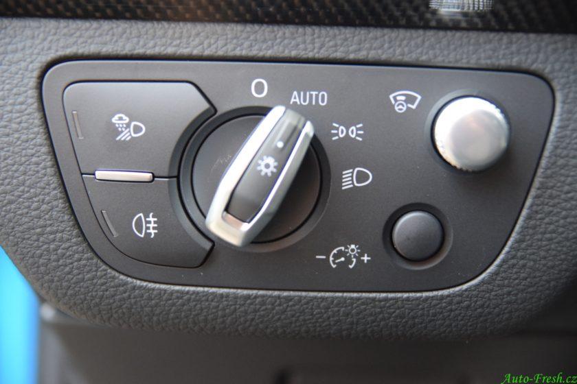 Audi SQ5 ovládání