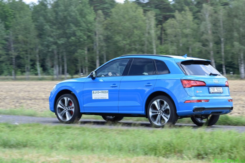 Audi SQ5 jízda 2