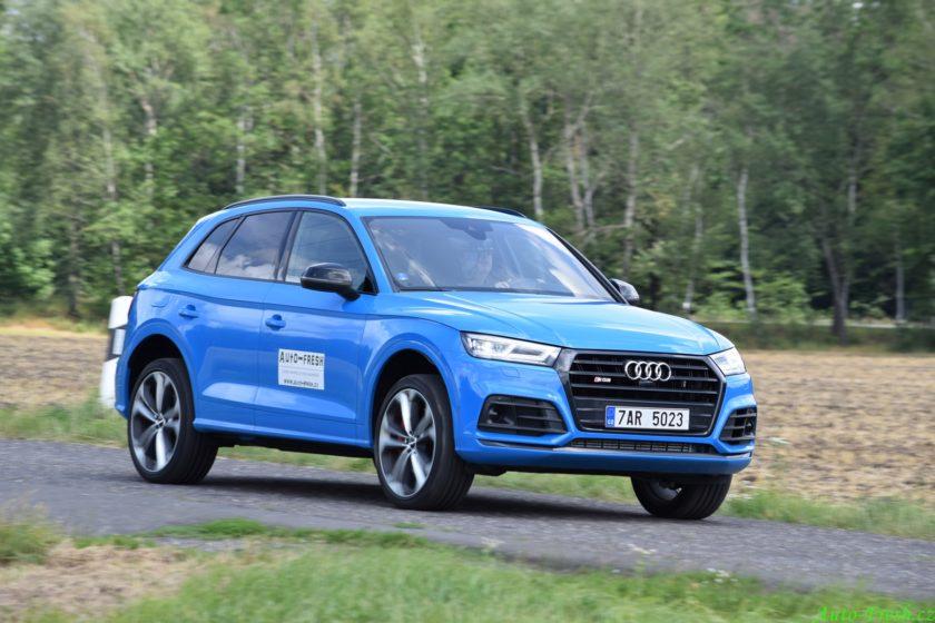 Audi SQ5 jízda