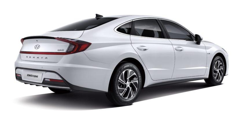 Hyundai Sonata hybrid back