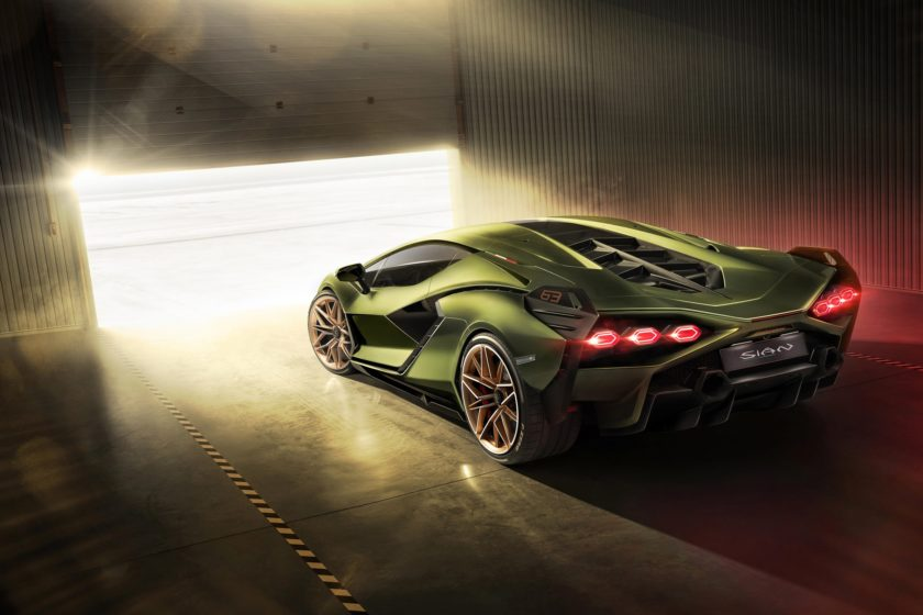 Lamborghini Sián back