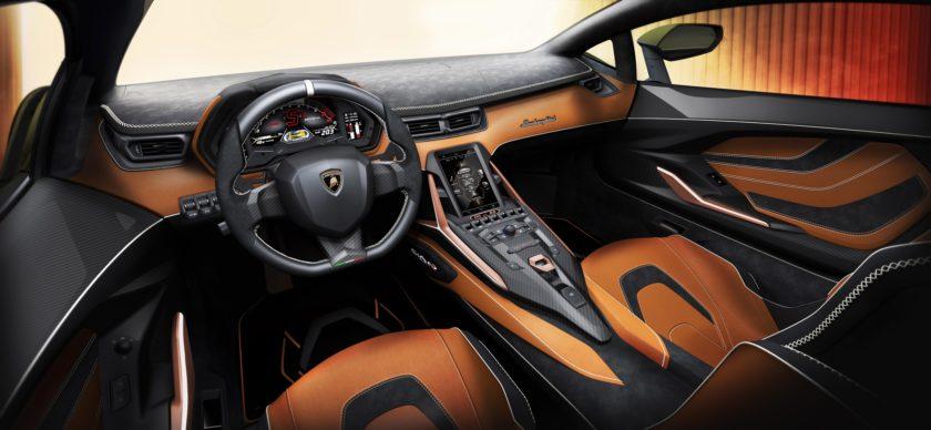 Lamborghini Sián Interiér