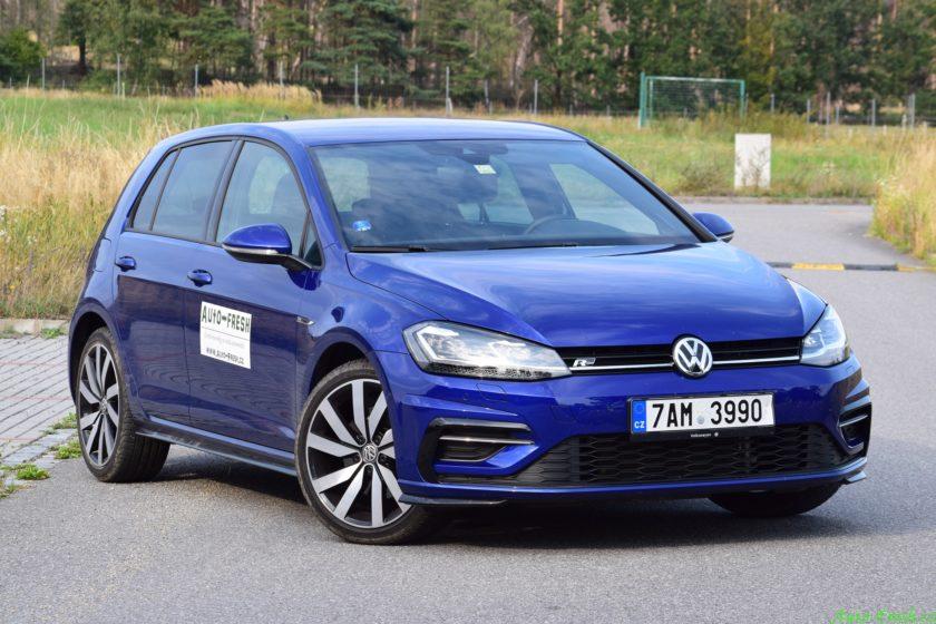 Volkswagen Golf R-line Front