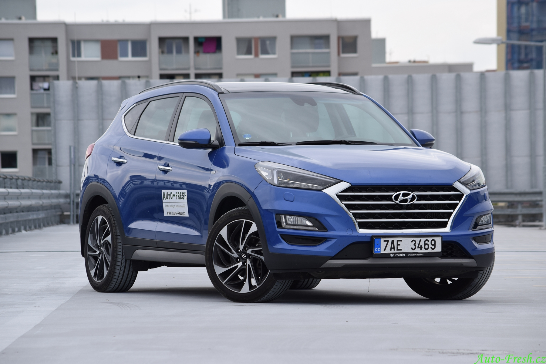 Hyundai Tucson Front
