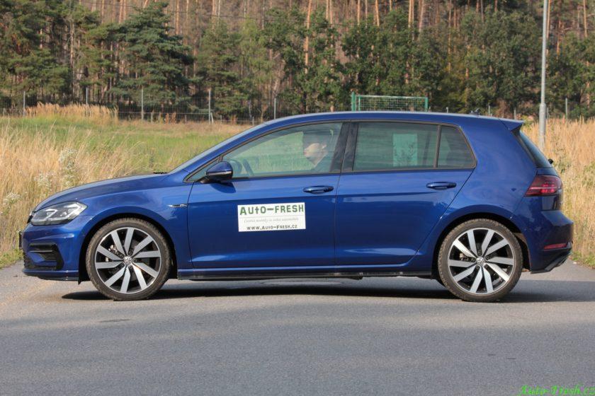 Volkswagen Golf R-line bok