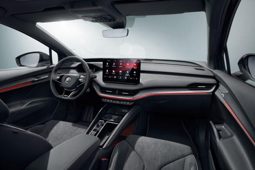 Škoda Enyaq Sportline Interiér