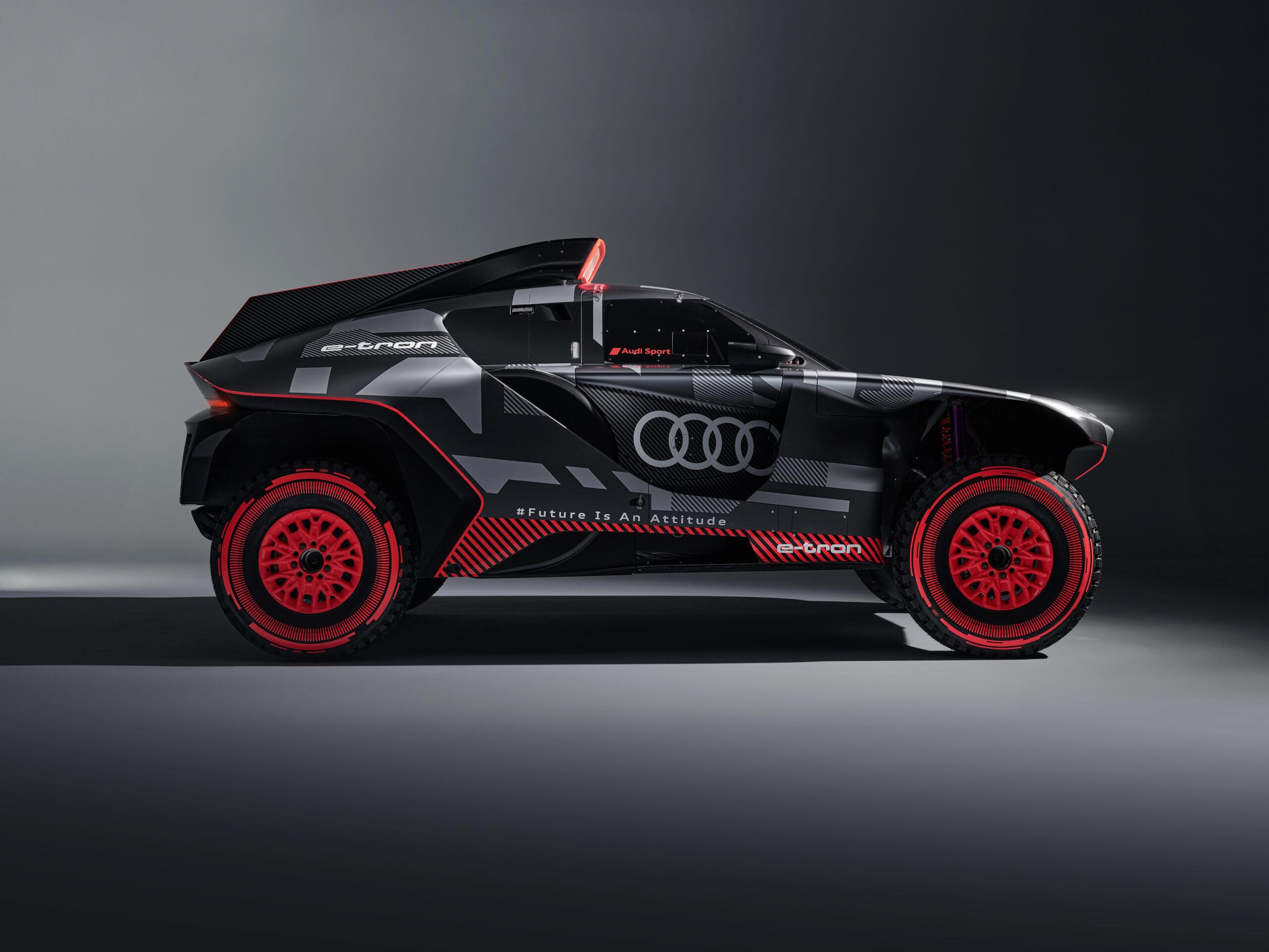 Dakar Audi RS Q e-tron